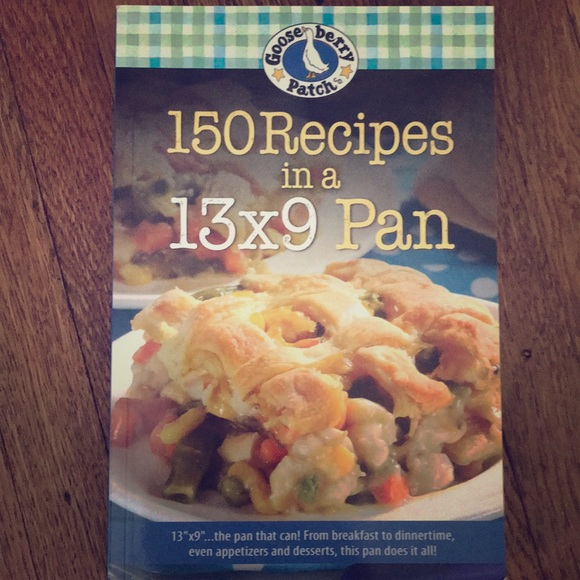 gooseberry patch Other - 150 recipes in a 13x9 pan